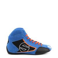 SPARCO YAS MID BLU Sneakers scarpe alte uomo BLU ROYAL RACING ORIGINALI