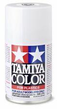 Tamiya TS-27 Matte (Flat) White Spray Paint Can  3.35 oz. (100ml) 85027