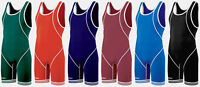 Asics Snap Down Snapdown Mens Adult & Youth Wrestling Singlet JT1155, 6 colors
