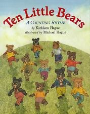 Ten Little Bears: A Counting Rhyme-ExLibrary