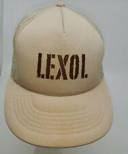 VTG LEXOL Leather Cleaner Trucker Hat Cap Advertising Z1