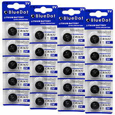 20 pcs CR1632 CR 1632 3V Lithium Coin Cell Button Battery Batteries ~USA SHIPPER