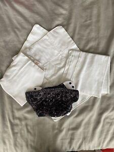 Bumgenius Flip Organic Cotton Prefolds x2 Flip Organic Cotton Flats x2 And Wrap