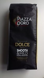 Piazza D'Oro Dolce coffee beans - 1 kg.