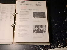 SABA Cassetten Deck Service Manual CD 780 uvm. choose 1 piece 1 Stück wählen !