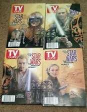 Star Wars Covers 1999 TV Guides Set of 4 Phantom Menace NEW