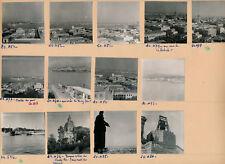 MESSINE Sicile c. 1950 - 13 Photos de la Ville Italie - PL 1181