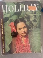 Holiday Magazine Vintage Hawaii/Virginia Portfolio/Third Ave. NY April 1948