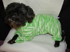 Small Fleece Dog Jammies-Pajamas many New colors! see more in my E-bay store