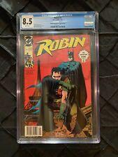 Robin #1 • Newsstand Edition Second Printing • 1991 DC Comics • CGC 8.5