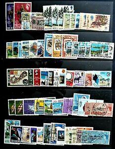 Bermuda QV II Fine collection of Commemorative sets Fine Used