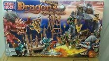 new sealed Mega Bloks Dragons Krystal Wars - VORGAN STRONGHOLD 9891