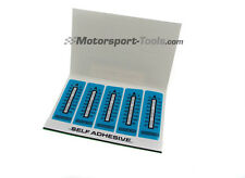 Racetech Motorsport Temperature Test Strip Sticker 37-65c Pack of 10