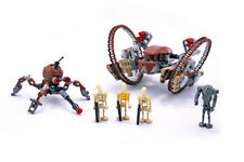LEGO CITY CITTA 'Star Wars Set 7670 HAILFIRE DROID & Spider Droid 2008 COMPLETO