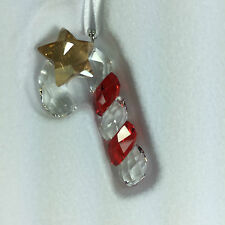 SWAROVSKI CHRISTMAS CANDY CANE ORNAMENT MIB #1054569