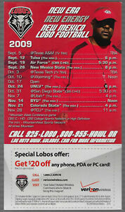 2009 New Mexico Lobos Magnet College Football Schedule !!!