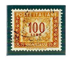 ITALIA REP. - Segnatasse - 1957 - Filigrana stelle. Tinte di stampa: diverse ton