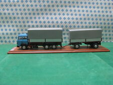 Truck -FIAT 190 cassoneTelonato + articulated trailer 3-assi- 1/43 Gila Modelli