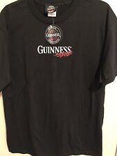 Guinness Extra Stout - Made In Dublin - Size Large Black T-Shirt