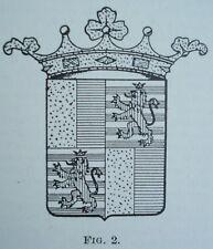 GENEALOGIA ARALDICA RIVISTA FAMIGLIA NOBILI ANNO II N.3-7 53 CORNARO DI VENEZIA