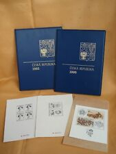 1995-1996 Czech Republic full Stamps Booklets - Ceska Republika