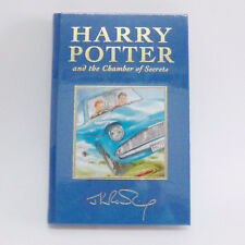 SEALED Harry Potter Chamber of Secrets 1st 4th book DeLuxe cloth cover UK New