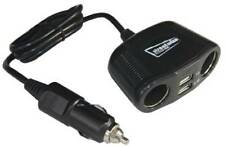 Adattatore per accendisigari doppio presa e spina 2x USB