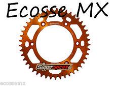 KTM Excf250 350 450 505 EXC525 ORANGE SUPERSPROX Couronne arrière alliage 48 T