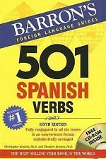 Barron's Foreign Language Guides:  501 Spanish Verbs  (Book & CD-ROM) by Theodor