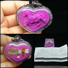 Heart Masepnang LP Kasem Thai Amulet Power Attract Love Magic Luck Takrut Voodoo