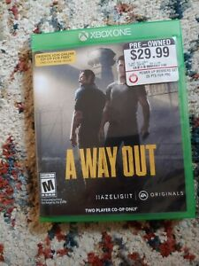 A Way Out (Xbox One 2018)