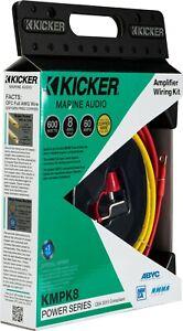 Kicker Marine 8 AWG Amplifier Power Kit