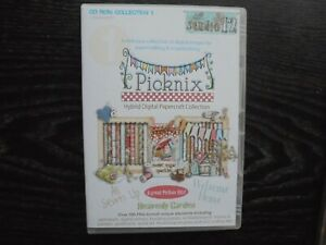 Picknix Heavenly Garden CD Rom