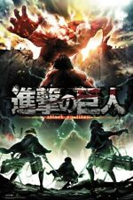 ATTACK ON TITAN ~ SEASON TWO ACTION 24x36 ANIME POSTER ~ NEW/ROLLED!