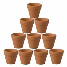 OUNONA 10 Pcs Mini Clay Pots Terracotta Pot Clay Ceramic Pottery Planter Cactus