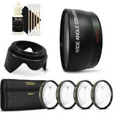 52mm Wide Angle Lens Kit for Canon EOS Rebel T5 T6i and All Canon DSLR Camera