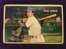1951 Bowman Baseball Card # 32 Duke Snider