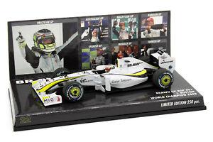 1/43 Minichamps Jenson Button Brawn GP BGP 001 2009 World Champion Lim 250pcs