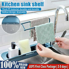 Telescopic Sink Rack Holder Expandable Storage Drain Basket Home Kitchen Kit-HOT