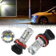 2x H8 H11 80W Samsung LED 2323 SMD Lampe Anti Brouillard Ampoule Light 12V-24V