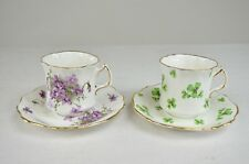 Lot of Hammersley Fine Bone China Tea Cup and Saucer