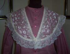 Civil War/Victorian/Sass Ladies Lace Bertha Fichu (off-white) #2