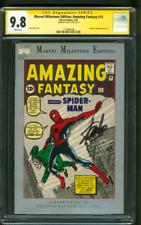 Amazing Fantasy 15 CGC SS 9.8 Stan Lee Auto Milestone Ed 1st Spider Man 1992