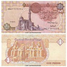 Egypt 1 Pound 2007  P-50k  Banknotes UNC