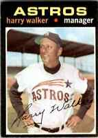 1971 Topps Jvb422 Harry Walker Houston Astros #312