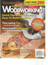 WOODSMITH WEEKEND WOODWORKING MAGAZINE FALL 2017.
