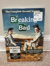 Breaking Bad: The Complete Second Season (DVD, 2010, 4-Disc Set) New