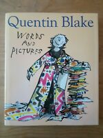 SIGNED LIMITED EDITION WORDS AND PICTURES QUENTIN BLAKE (ROALD DAHL ILLUSTRATOR)