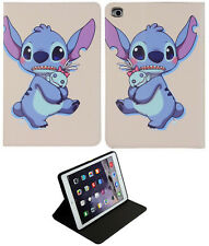 For iPad Pro 9.7 2017-2018 / iPad 9.7 / iPad Air 1-2 Lilo And Stitch Case Cover
