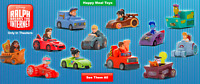 2018 McDonald's Ralph Breaks the Internet Happy Meal SEALED Toys Pick Your Toy!